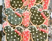 Minnie Mouse Sugar Cookie...
