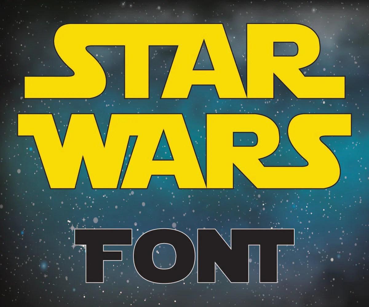 Star Wars Letters Star Wars Alphabet Star Wars Font Svg