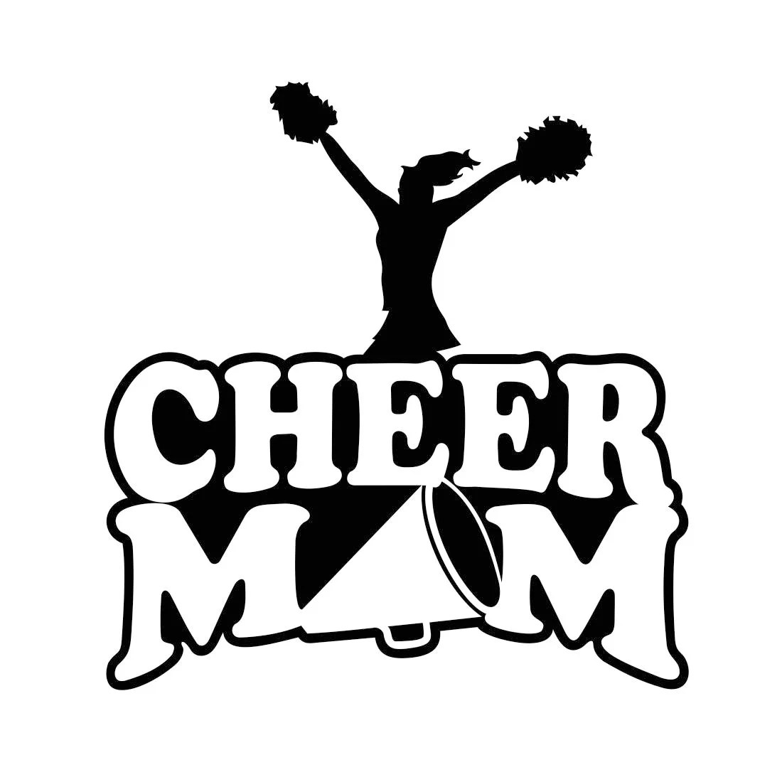 Cheer Mom Graphics Svg Dxf Eps Cdr Ai Vector Art