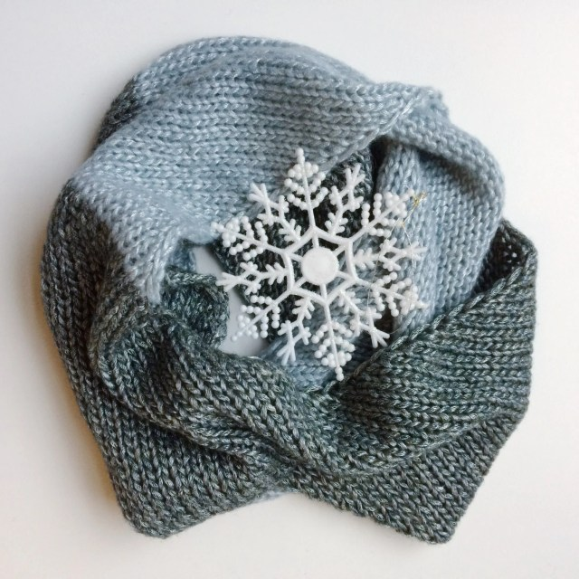 Infinity Scarf, Knitted S...