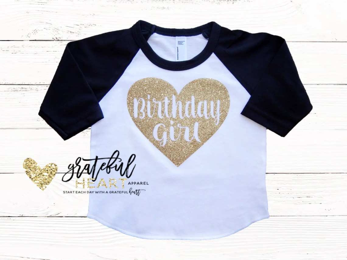 Birthday Girl Shirt Baby Girls