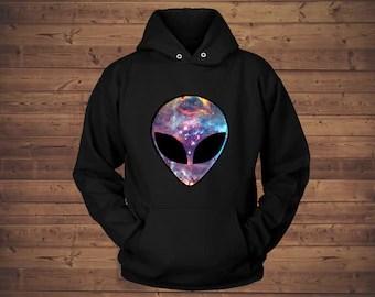 Galaxy sweatshirt Etsy