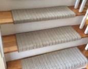 Mulberry - Carpet Stair Tread – Beaulieu - Scotchgard™ - Pet Dog Cat - Odor Eliminator - Magic Fresh® - (Sold Individually)