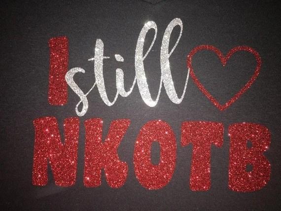 Download Women's I Still Love NKOTB Glitter Shirt NKOTB T-Shirt
