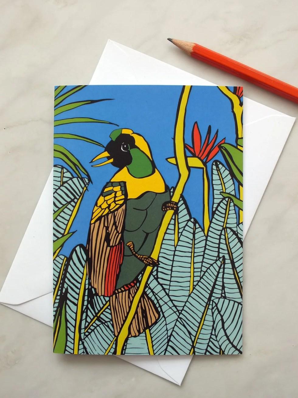 Tropical Bird of Paradise...