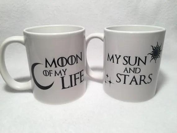 Moon of my life, My sun and stars Mug Set