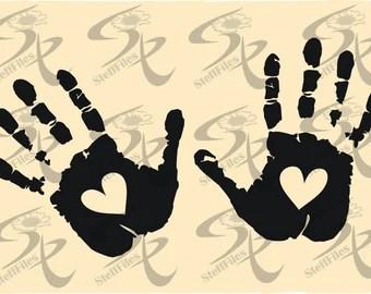 Download Handprint | Etsy
