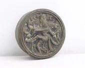 Indian brass box, Shiva N...
