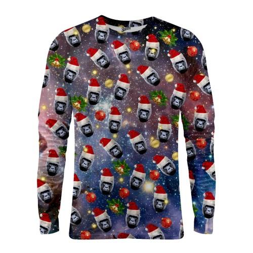 Harambe Christmas Long Sleeve T-shirt