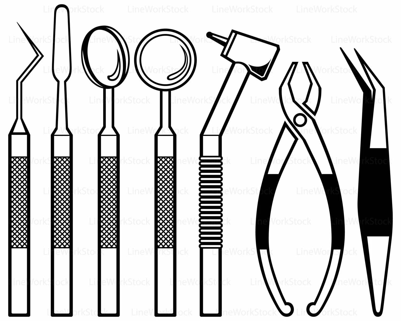 Dental Equipment Svg Dental Clipart Dental Svg Dental