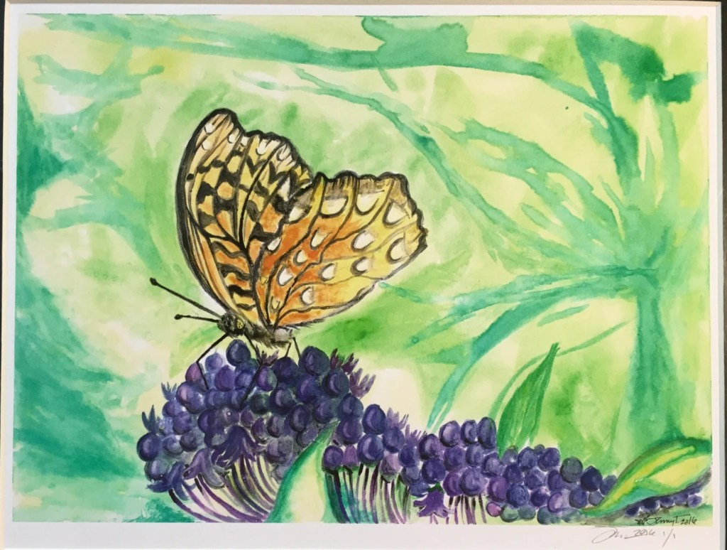 Print Butterfly Daydreams