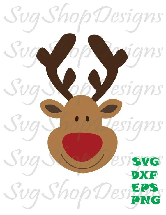 Download SVG Reindeer Cutting File Reindeer cut file by SvgShopDesigns
