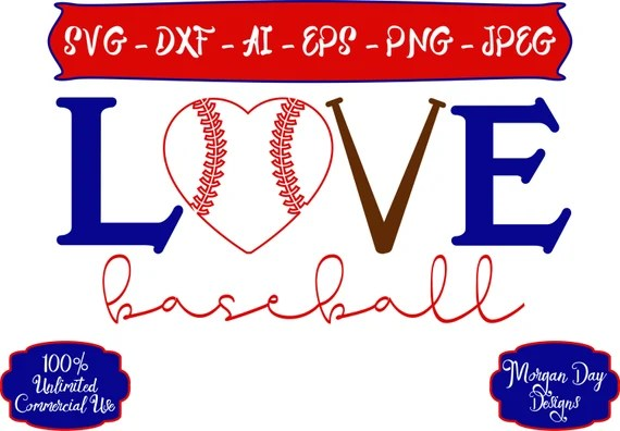 Download Baseball SVG - Love Baseball SVG - Baseball SVG - Sports ...
