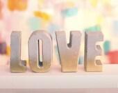 Concrete Gold Ombre LOVE ...