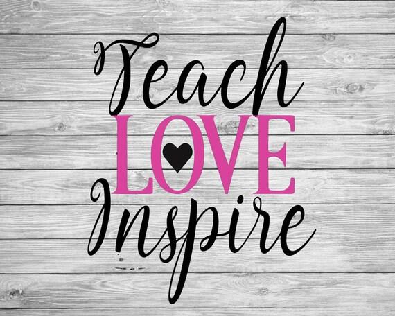 Download Teach Love Inspire
