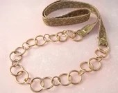 Vintage Brass Chain and O...