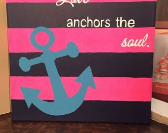 Download Love Anchors the Soul Digital SVG / DXF Cut File Love Quote