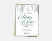 Birthday Invitations - Sw...
