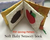 Sensory Baby Book Toy Sew...
