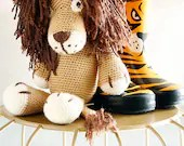 Leo the Lion, Crochet Lio...