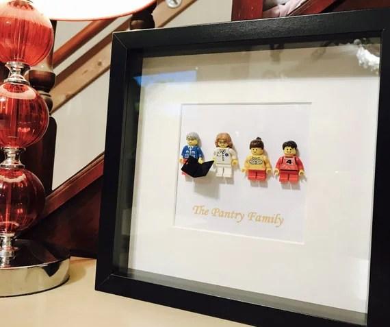Lego Portrait Father's Day