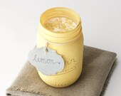 Aromatherapy Lemon Candle...