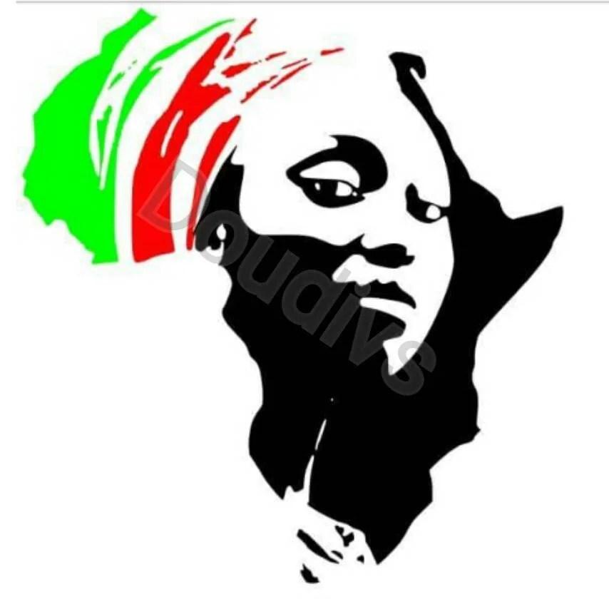 Download Face of Africa SVg File SVG For Cricut Ethnic Svg File