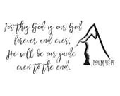 God is Our Guide Bible Ve...