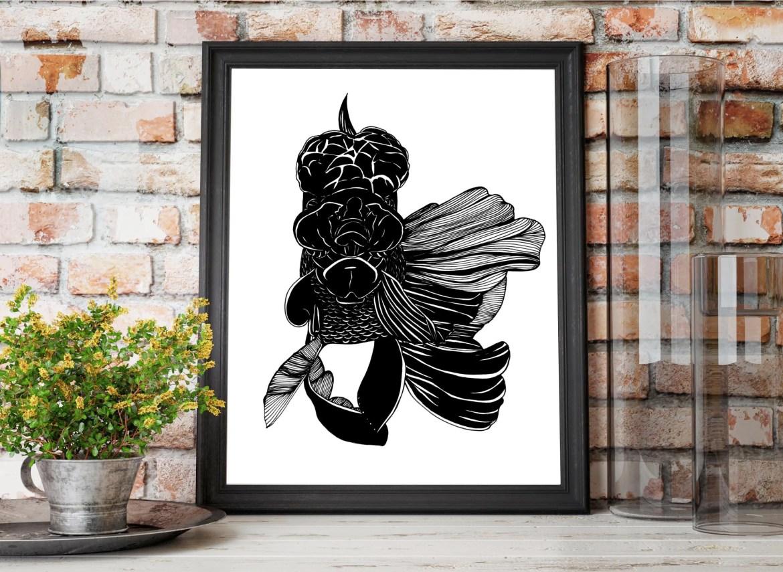 Black Lion Fish Original ...