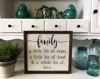 Download Family loud sign   Etsy
