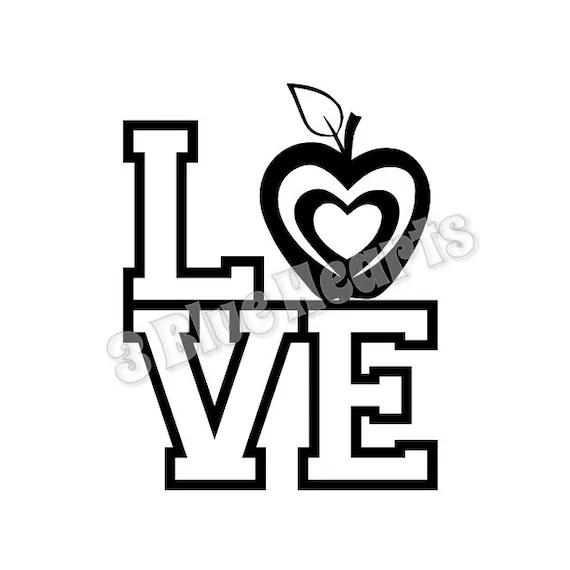 Love Teacher svg dxf pdf studio jpg, Disney svg dxf pdf ...