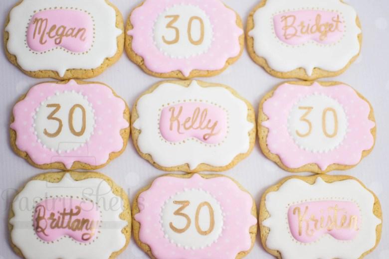Spa Sugar Cookies, 1 Doze...