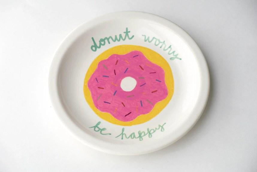 """Food Pun """"Donut Worr..."""