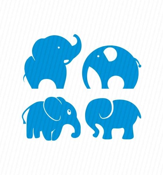 Download Elephants Svg, Elephant Svg, Elephants Silhouette Svg, Svg ...