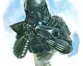 "Death Trooper 11""x17..."