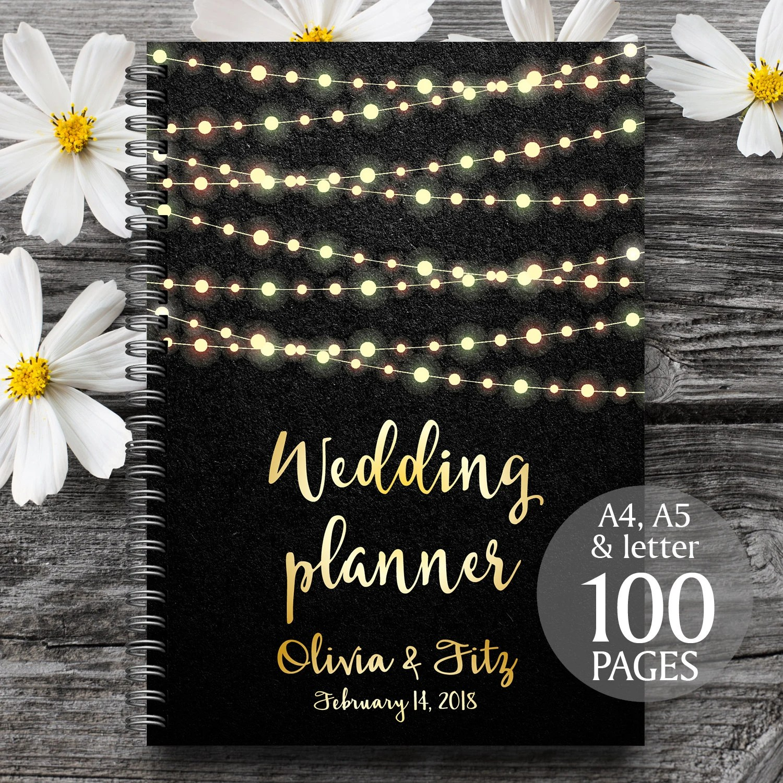 Wedding Planner Wedding Binder Wedding Planner Book