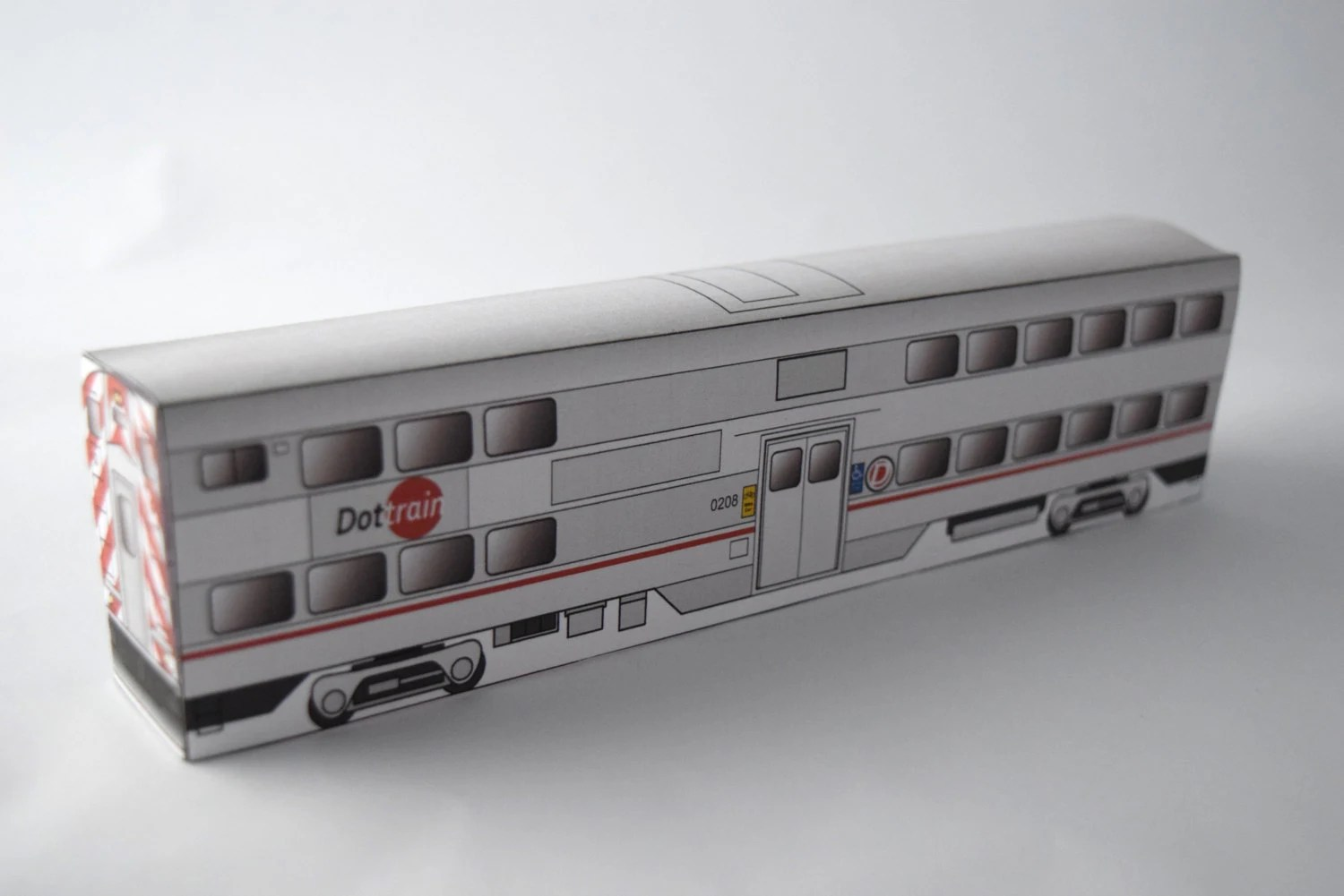 Do It Yourself Paper Train Template 3d Papercraft Model