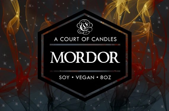 Mordor - 100% Soy Wax Candle 9oz