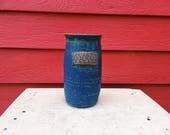 Dark Blue Tall Vessel wit...