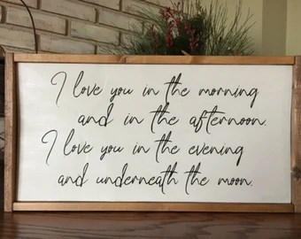 Download Love Grows Best in Little Houses Just Like This Wood Sign