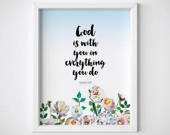 Download Items similar to Everyday God Loves You - Inspirational ...