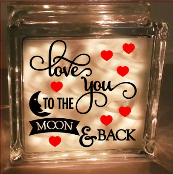 Download Love you to the moon and back - Digital cutting file ...