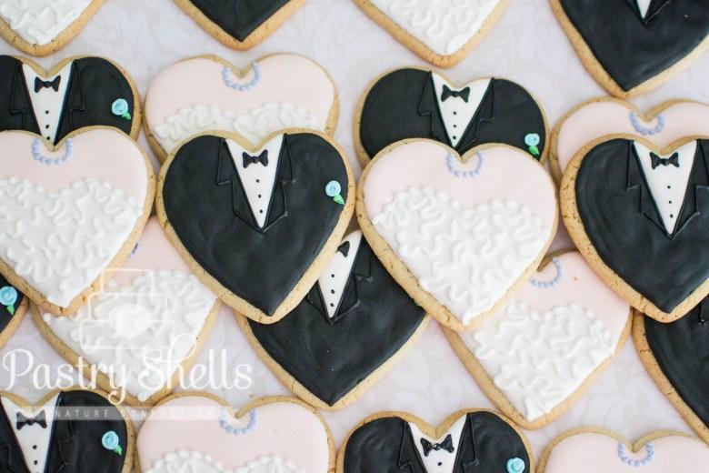 Wedding Sugar Cookies, Br...