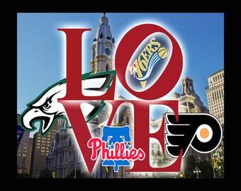 Philadelphia Sports Etsy