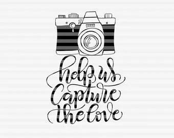 Camera cut file | Etsy