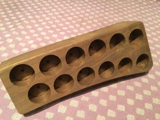 Walnut Oil Holder