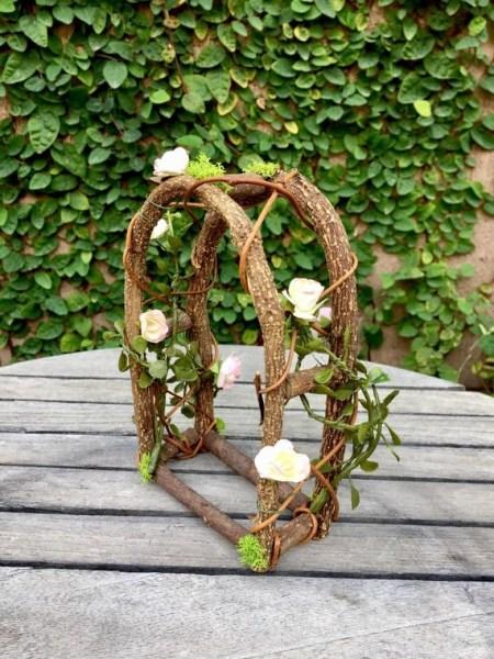 fairy garden trellises Miniature garden arch dollhouse trellis fairy garden arch
