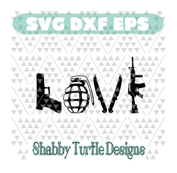 Download Military Love SVG DXF EPS
