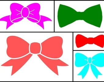 Download Bow svg cut files for Cricut, Silhouette and other Vinyl ...