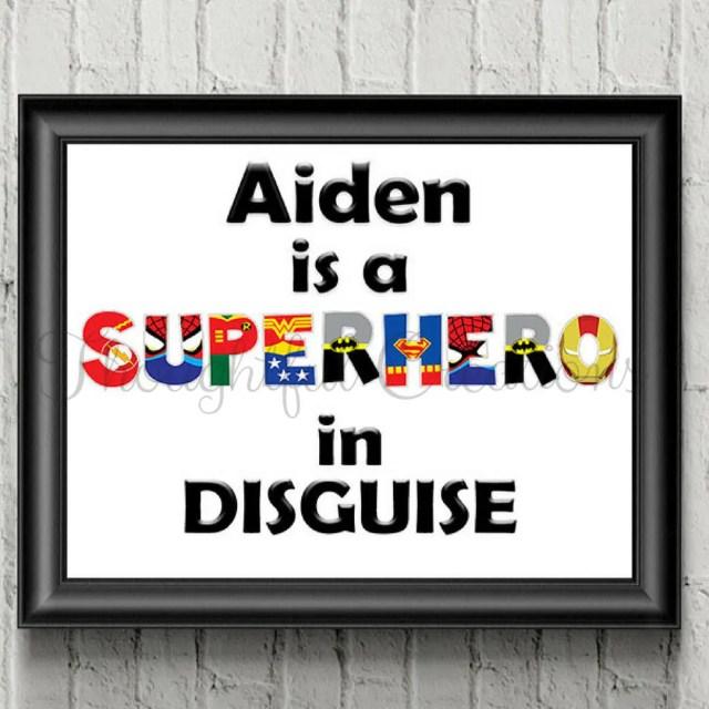 Personalised Superhero Pr...